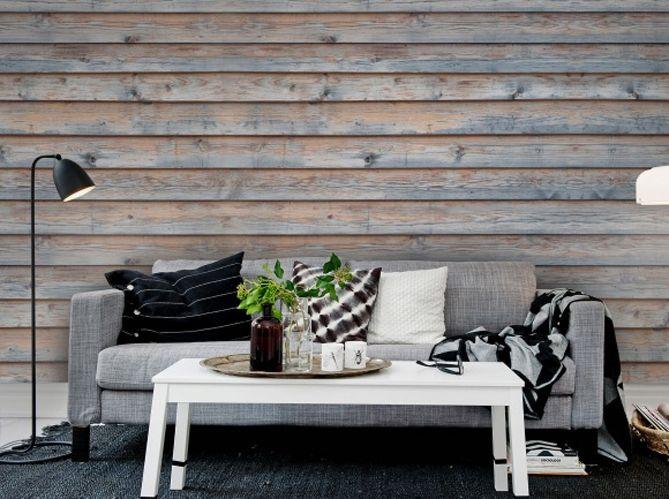 chambre mur en bois peint - Recherche Google