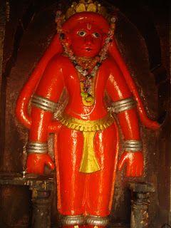 11 Maruti temples by Saint Shri Swami Samarth Ramdas in Maharashtra 1566 - Shahapur, Chunyacha Maruti 1567 - Masur, Maharudra hanuman 1570 - Chaphal, Daas Maruti + Pratap Maruti 1571 - Shinganwadi, Khadicha Maruti or Baal Maruti 1571 - Umbraj, Umbraj Maruti or Mathatil Maruti 1571 - Maajgav, Maajgavcha Maruti 1573 - Baahe-Borgav, Baahe-Borgav cha Maruti 1573 - Manapadale, Manapadale cha Maruti  1574 - Pargav, Pargav cha Maruti 1576 - Battis, Shirala, Veer Maruti stance
