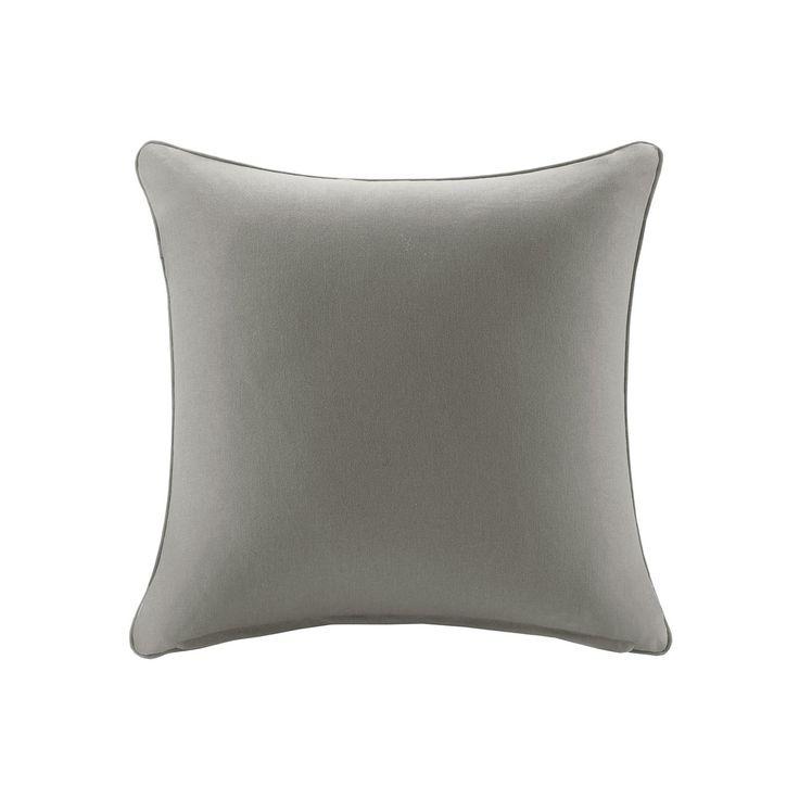 Madison Park 3M Scotchgard Outdoor Medium Throw Pillow, Grey