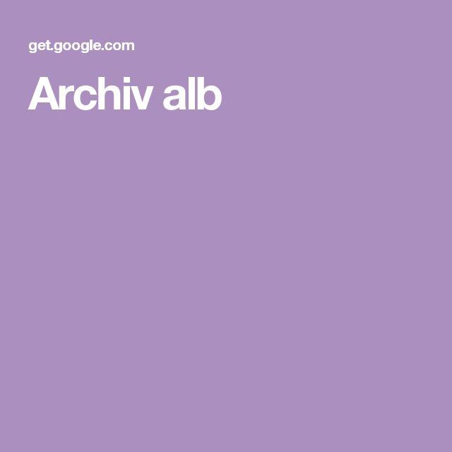 Archiv alb