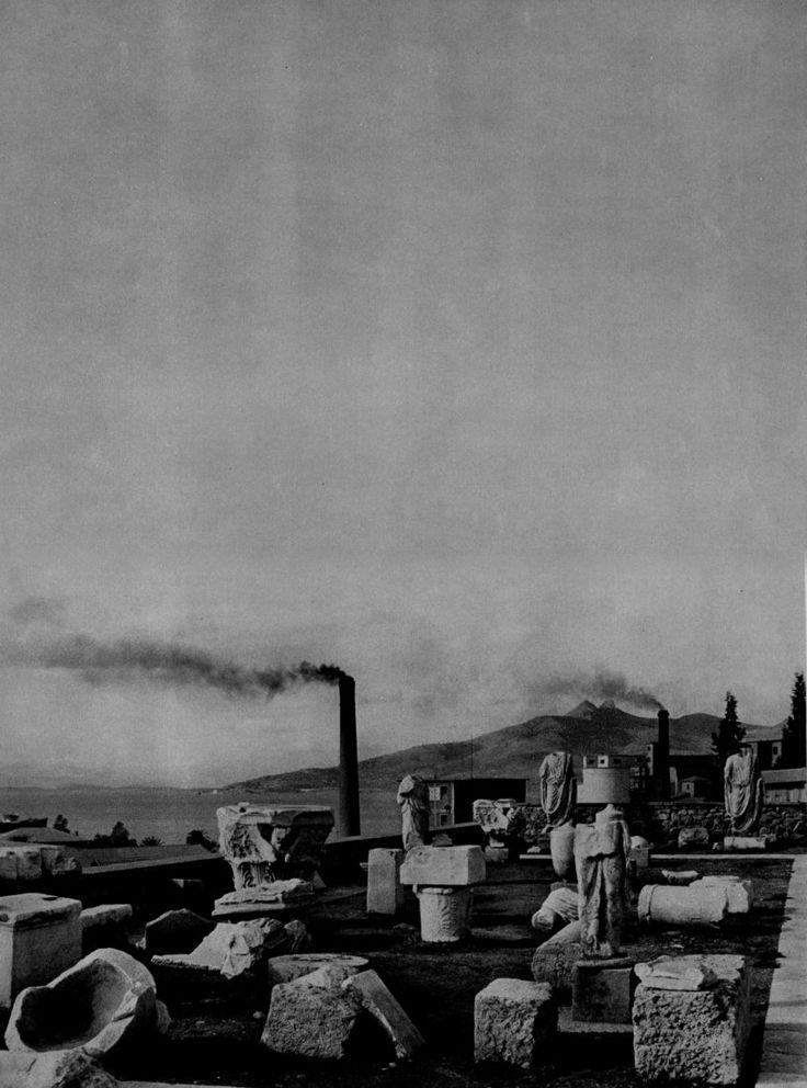 Henri Cartier-Bresson Museum at Eleusis, Greece, (printed) 1955