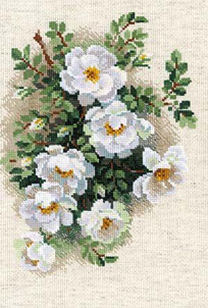 White Briar Cross Stitch Kit By Riolis