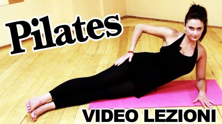 Pilates: esercizi per allenamento completo per dimagrire, lezioni in ita...