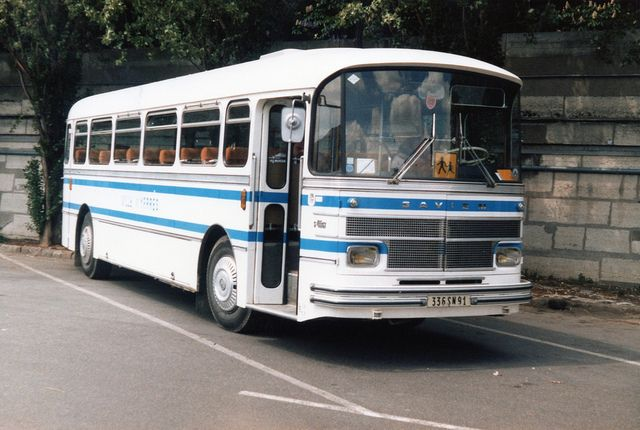 Saviem Bus | 336SN91, Saviem Coach/Bus, Paris Area, May 1986. souvenirs du ramassage scolaire