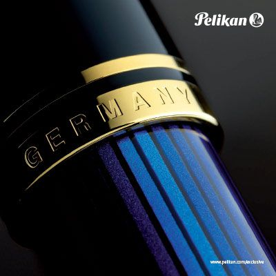 Pelikan Souverän fountain pen Black-Blue M800 M600 M400