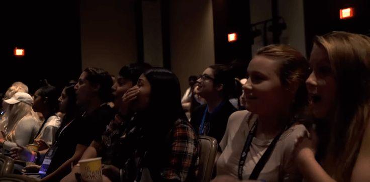 """Estudantes levam maior susto durante a sessão do terror """"Ouija: Origem do Mal"""""""
