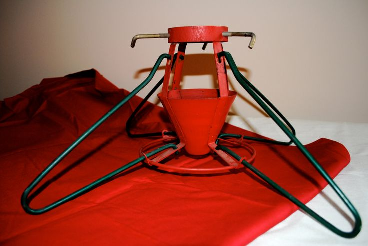 Mid-century Vintage Christmas Tree Stand by AllensArtistry on Etsy