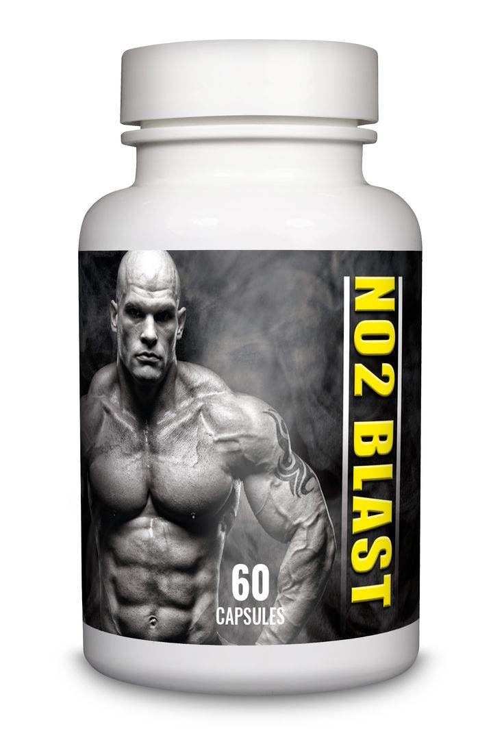 Increase muscle Mass & Energy Levels with No2 Blast