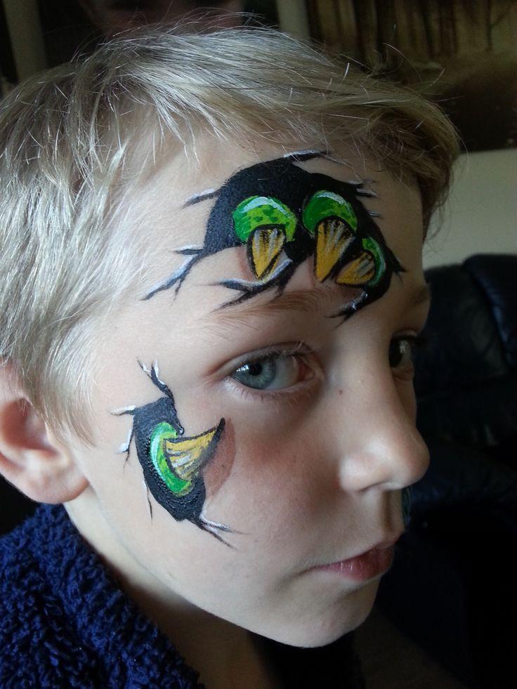 Dinosaur Face Paint Face painting