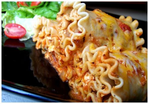"""Recipe   Giada's Lasagna Rolls ~ """"FAN...TAS...TIC! Excellent recipe, easy to follow and love the portion sizes. I normally don't making or even like lasagna, but this was kinda fun to make and super delicious. No problem with the bechamel either. Once a again, Giada did not let me down. Thanks!"""""""