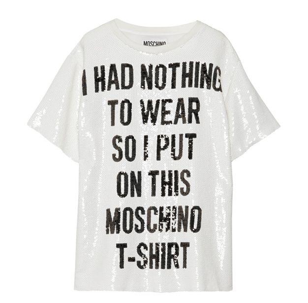 tee shirt - Moschino