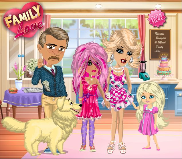 Family love theme on #moviestarplanet #MSP www.moviestarplanet.com