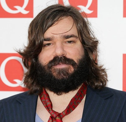Matt Berry - if my husband grows his hair out, this is what he would look like