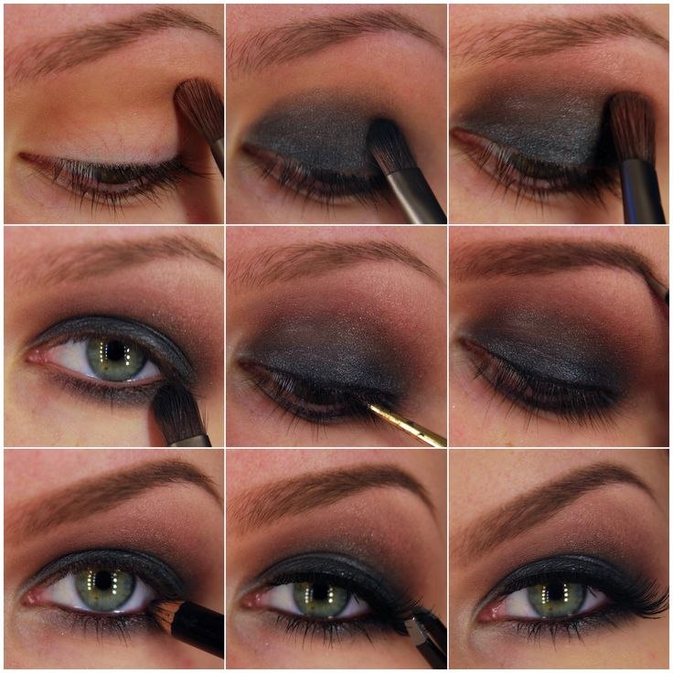 Pictorial on how to do a smokey eye
