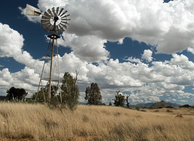 Karoo Windpomp by Danie Steyn, via Flickr