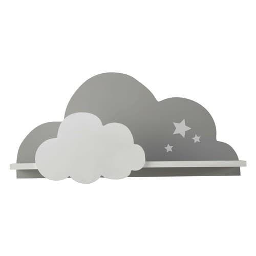 5 Estanterías con forma de nube, decoración infantil, Decoideas.net