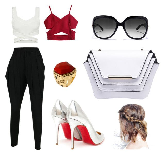 """Red"" by mhinojosafuentes on Polyvore"
