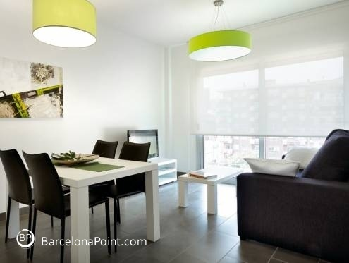 Accomodation in Les Corts - Camp Nou Chic Apartment - 3389