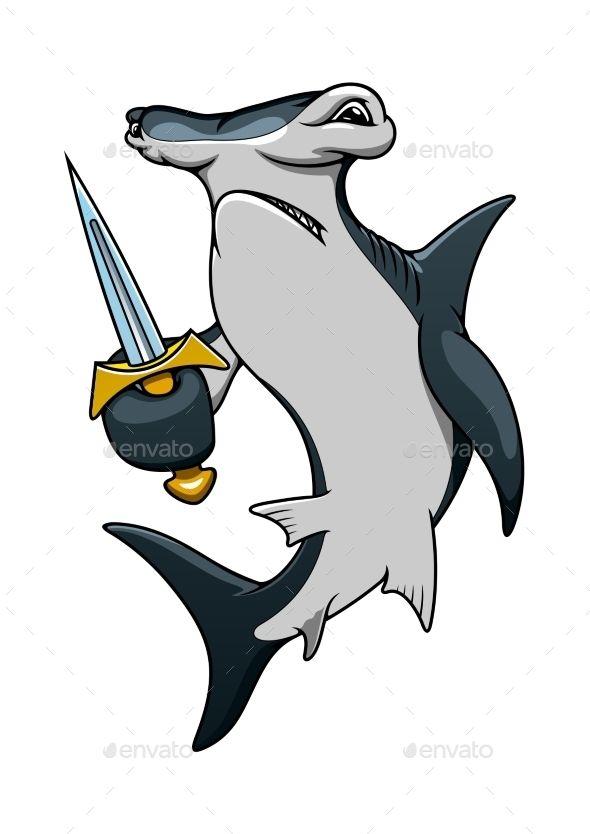 Ms de 25 ideas increbles sobre Caricaturas de tiburones en Pinterest
