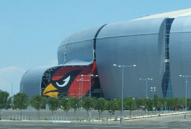Arizona Cardinals Stadium...are we ready for some football?!