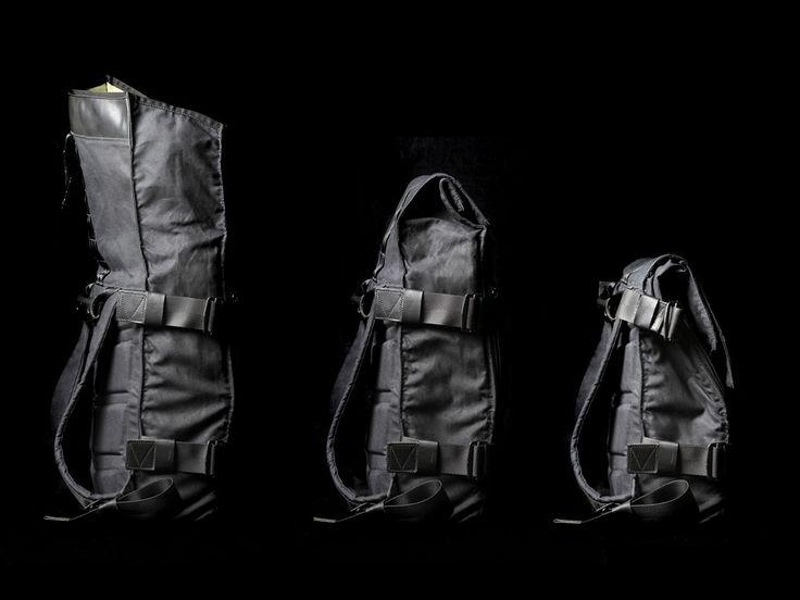 Wenn es doch mal auf die Größe ankommt, ist es gut eine Tasche zu haben, die sich den Bedürfnissen flexibel anpassen lässt.Magnitude Backpack heisst der Rucksack vonModern Industry, der sich beei…