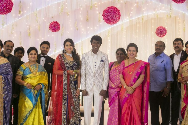 Divyadarshini at Atlee Kumar and Priya Wedding Reception