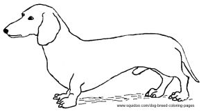 free coloring pages dog breeds - photo#42