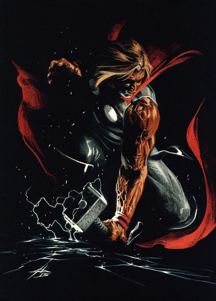 Thor by Gabriele Dell'Otto *