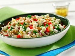Rosemary-feta pearl couscous salad