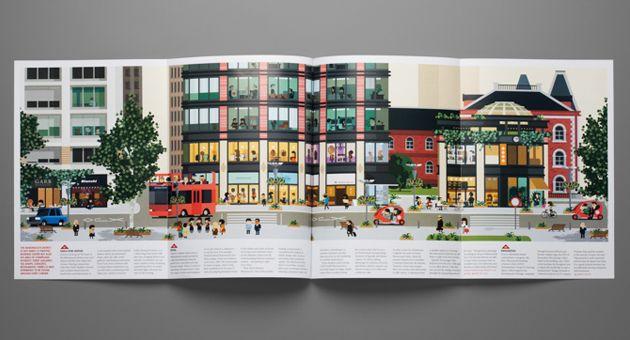 Monocle magazine Marunochi, Tokyo illustrationsArt and design inspiration from around the world – CreativeRoots
