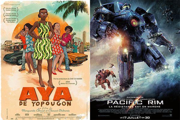 """> Nouvel article Publié dans la rubrique """"CINEMA/VIDEOS"""" sur www.enfant.net. Nouveaux films sortis cette semaine : Aya de Yopougon ; Pacific Rim 3D..."""