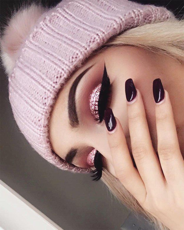 Super Glitter Rose Gold Makeup | Rose Gold Makeup Tutorial Perfect For Any Season