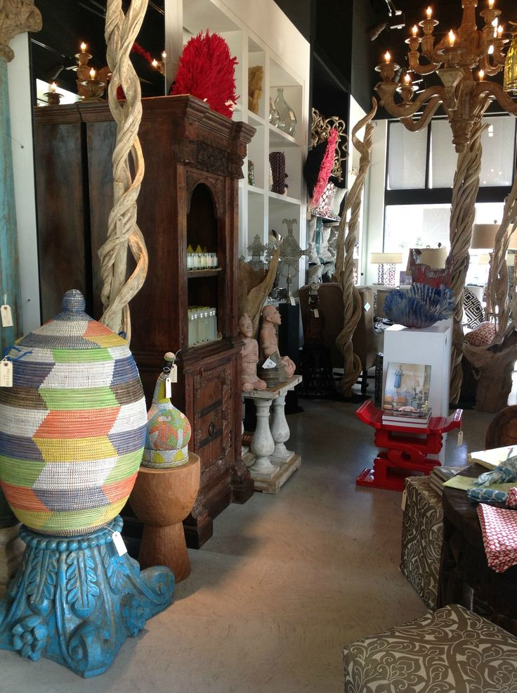 We've got new merchandise!     Come by the shop and you'll see everything from the most beautiful hand woven baskets from Zimbabwe, stunning beaded gourds from Cameroon, colorful summer table top linens, bold sand blasted glass sculptures, striking Jenne clay statues from Mali, deliciously smelling Trapp candles and home fragrances and much much more! #eclectic #homedecor #lifestyle #world