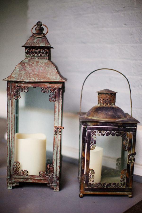 love these #romantic & #rustic #lanterns
