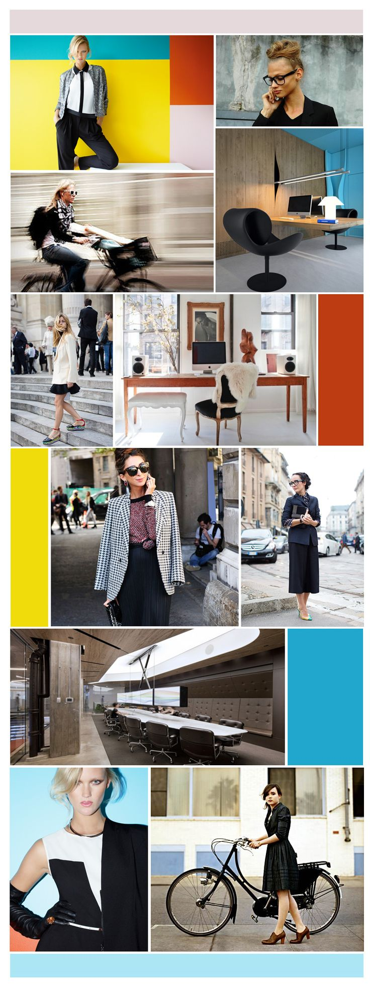 Howard Showers Corporate Chic Inspiration. The best thing about a new year is of course the chance to stock your wardrobe up with new pieces that are perfect for desk to dinner. We took inspiration from the street, amazing office....