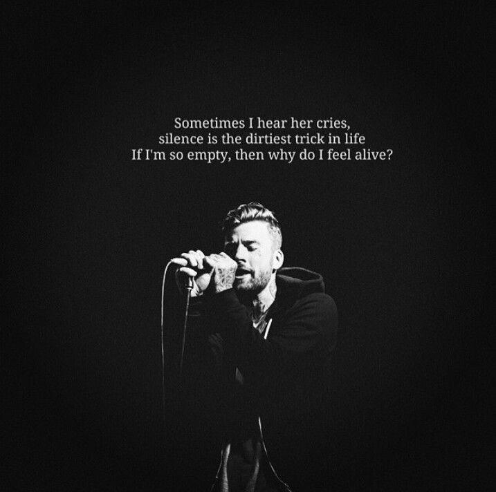 Jonny Craig, Slaves, My Soul is Empty and Full of White Girls.♥