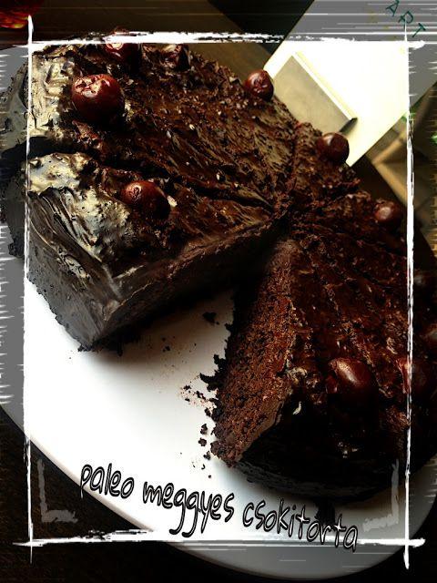 Paleo meggyes csokitorta | MaiMóni