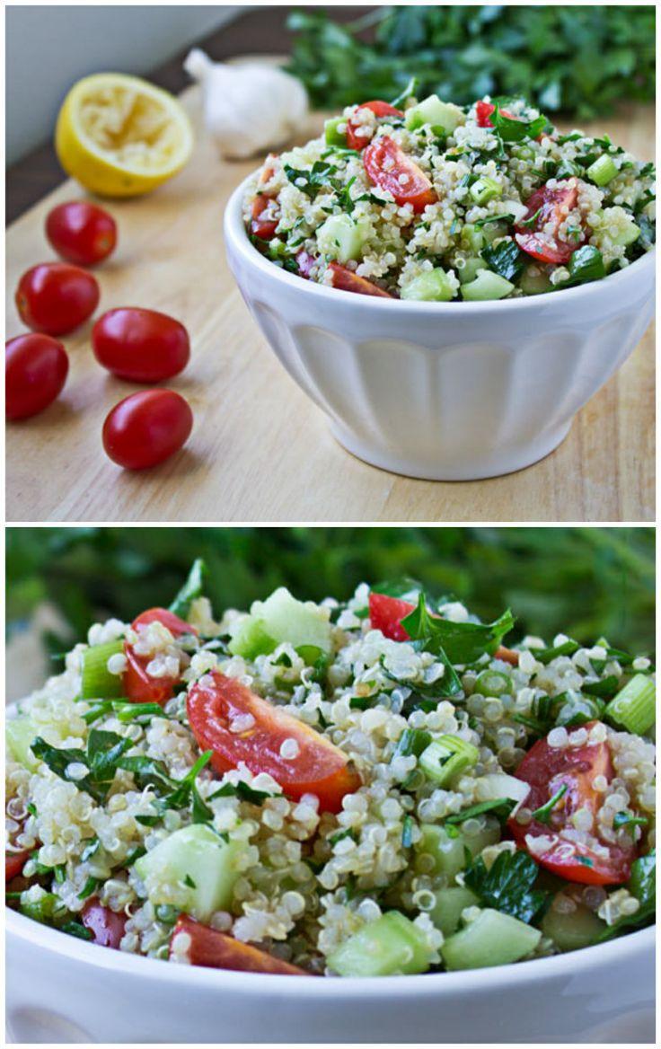 Quinoa Tabbouleh | Recipe | Sweet, The o'jays and Fresh