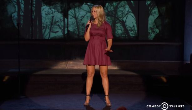 Not only does Amy Schumer have some sexy legs in this stand up comedy show but she is freaking hilarious. This is Amy Schumer's