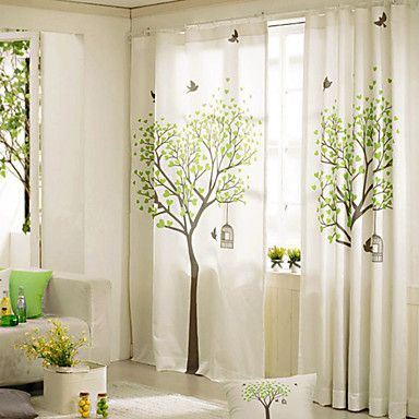 M s de 25 ideas incre bles sobre cortinas dobles en for Cortinas estampadas modernas