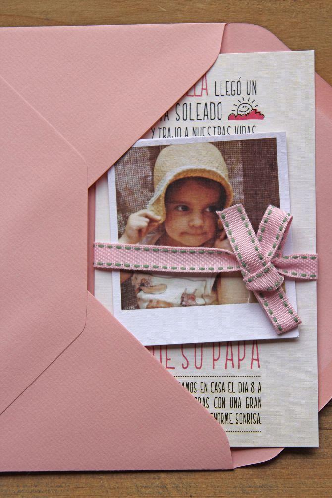 """Sød ide, med et billede i invitationen som """"gave"""""""