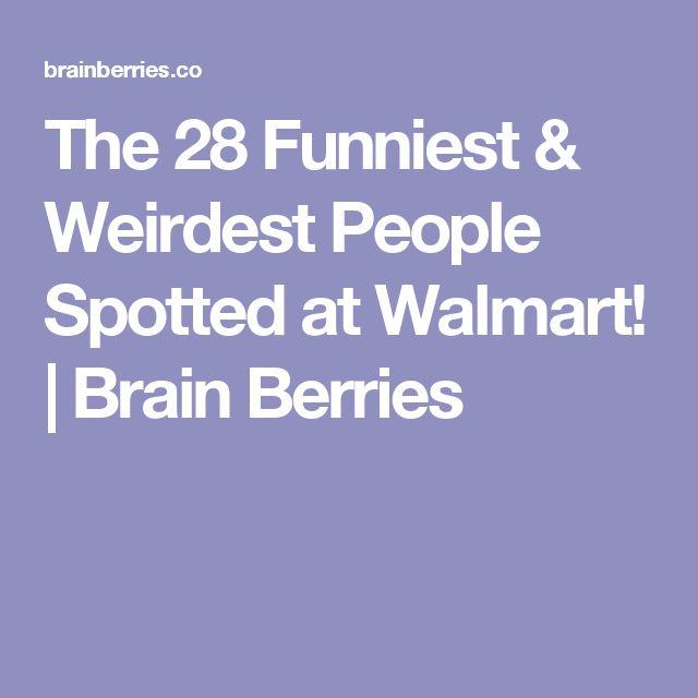 The 28 Funniest & Weirdest People Spotted at Walmart! | Brain Berries