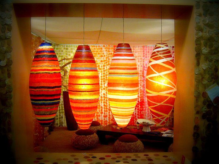 Mozaïeke hanglampen #mozaiek #interieur #interior #meubels #en #meer #light #licht #interieurwinkel #interiorstore #meubelsenmeer #bruin #wit #kleur #geel #blauw #rood #brown #white #color #yellow #blue #red