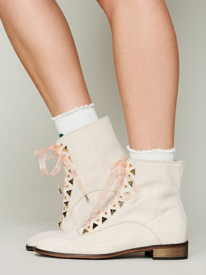 Free People New Kid Dreamcore Ankle Boot, $129.95