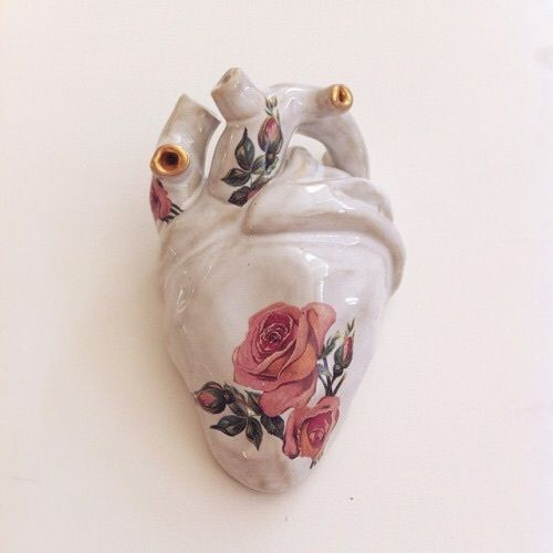 """I've got a porcelain heart. Therefore it shatters with even the tiniest heartache."""