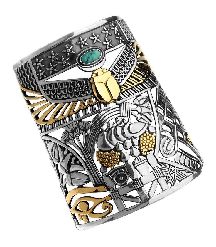 egyptian cuff bracelet tattoo - photo #18