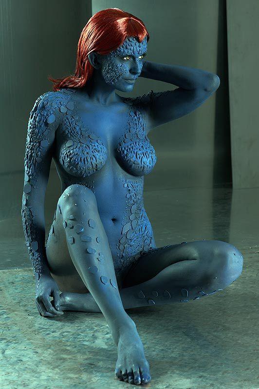 X men mystique hot big boobs porn