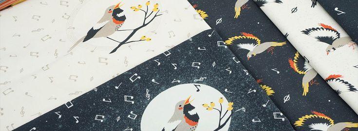 """""""Ptasie trele"""" (Birds' songs) a collection by Aga Kobylinska for dresowka.pl"""