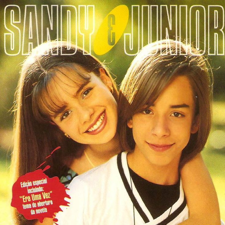 Encartes Pop: Sandy e Junior