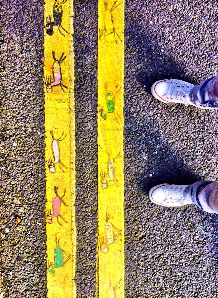 double yellow lines | francisco de pajaro | HPMcQ